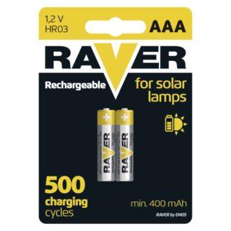 B7414 R03 400 MAH SOLAR RAVER EMOS 2B 1