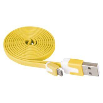 SM7001Y КАБЕЛ USB/USB micro 1m жьлт EMOS 1
