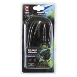 SB0103 КАБЕЛ HDMI A/M-AM 3м 2