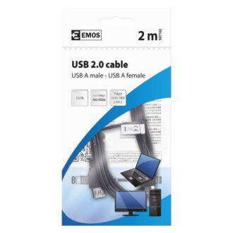 SD7102 КАБЕЛ USB 2м A/M-A/F 2