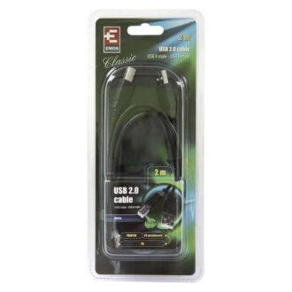 SB7202 КАБЕЛ USB 2м A/M-B/M 2