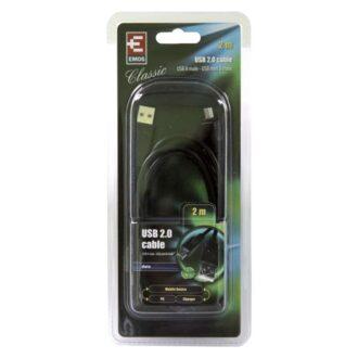 SB7302 КАБЕЛ USB/USB mini 2m