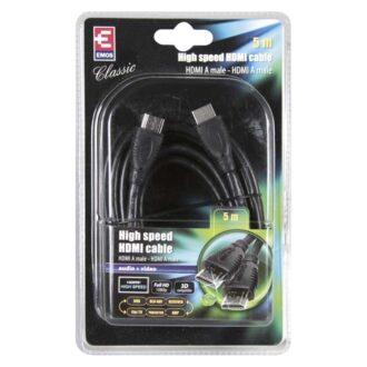 SB0105 КАБЕЛ HDMI A/M-AM 5м 2