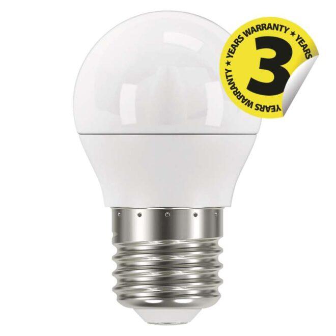 ZQ1121 КРУШКА LED CLS MINI GL 6W E27 NW 4