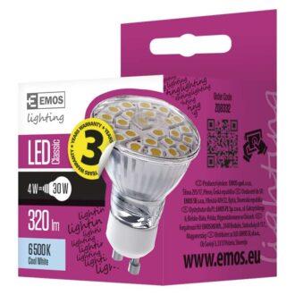 ZQ8332 КРУШКА LED CLS MR16 4W GU10 CW 2