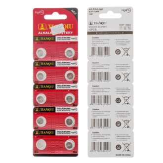 IEC-SGS-UL-Certificated-Tianqiu-AG2-Button-Cell-Dry-Battery-10PCS-Pack