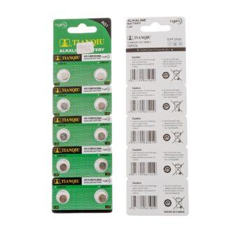 Tianqiu-AG1-Boton-De-Pilas-Alcalinas-Pilas-Bateria-Tianqiu-Alkaline-Button-Cell-Dry-Battery-Watch-Battery