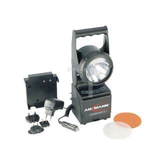 ANSMANN Akkuhandscheinwerfer Power Light 5.1 Xeon-/LED- und Notlicht 5802082